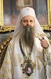 His Holiness - Porfirije, Archbishop of Pec, Metropolitan of Belgrade-Karlovci and Serbian Patriarch. (Image courtesy of spc.rs)