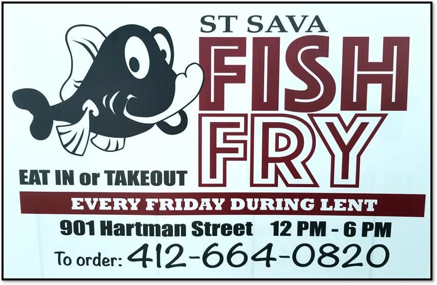 Lenten Fish Fry - St. Sava Serbian Orthodox Church