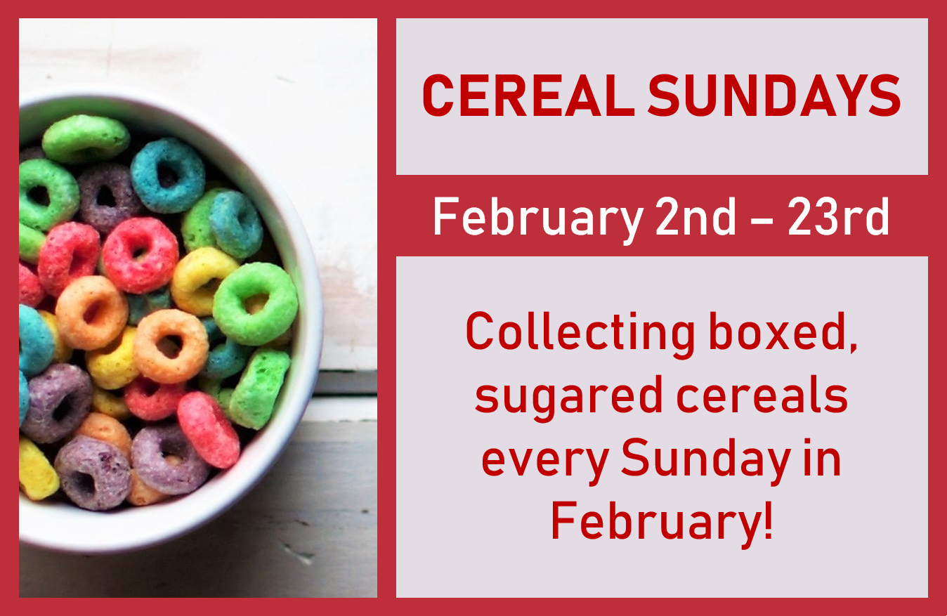 Cereal Sundays Food Collection - St. Sava Serbian Orthodox Church